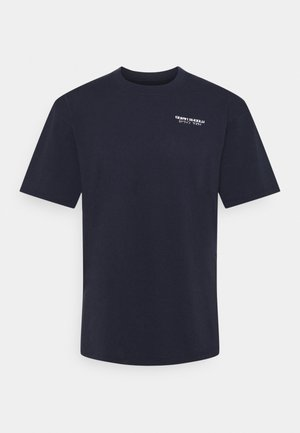 HOKUSAI NOH MASK - Potiskana majica - navy blazer