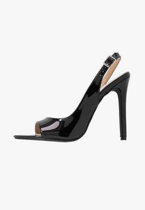 BRISA - High heeled sandals - black
