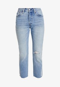 Levi's® - 501® CROP DIAMOND IN THE ROUGH 501 CROP - Jeansy Straight Leg - rough 501 crop - 4