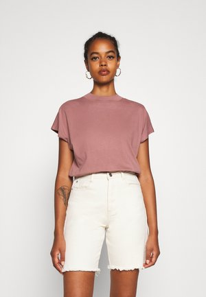 PRIME - Basic T-shirt - brown/purple