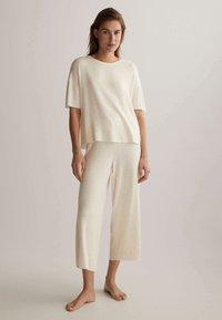 OYSHO - Pyjama bottoms - off white - 1