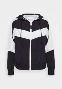 DKNY - COLORBLOCKED TRACK JACKET - Training jacket - black - 4