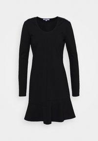 ABITO DRESS - Jersey dress - nero