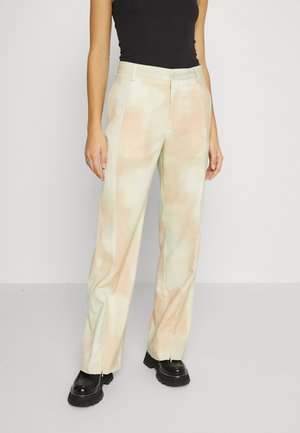 NEW TUXEDO TROUSERS - Trousers - yellow