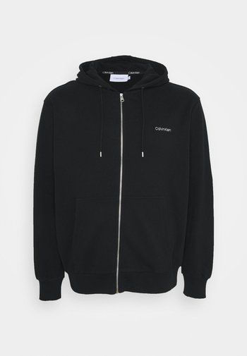 LOGO EMBROID ZIP THRU HOODIE