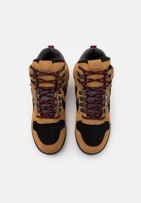 Hummel - NORDIC ROOTS FOREST MID UNISEX - Sneakersy wysokie - sierra - 3