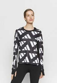 adidas Performance - CELEB - T-shirt sportiva - black/white - 0