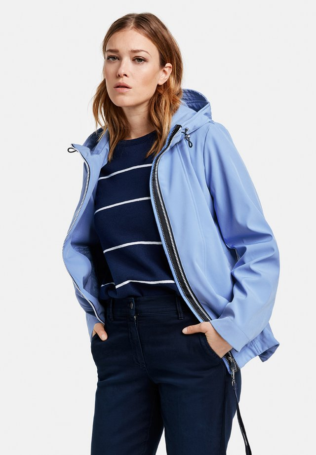 Outdoorjas - vivid blue