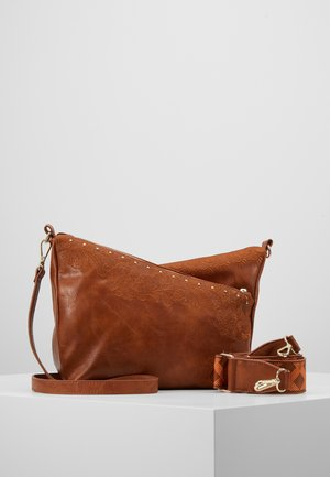 BOLS MELODY HARRY MINI - Across body bag - camel oscuro