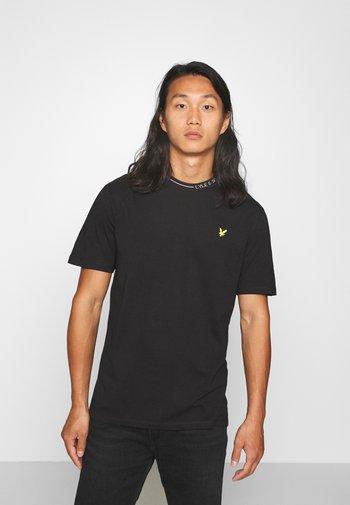 BRANDED RINGER - T-shirt - bas - jet black