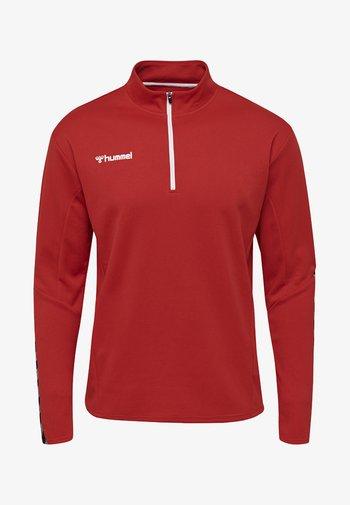 HMLAUTHENTIC  - Sweatshirt - true red