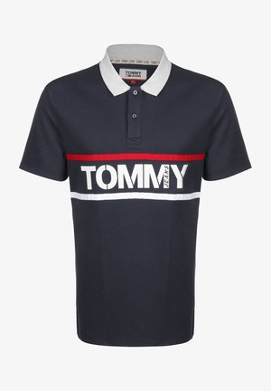 BOLD GRAPHIC - Polo shirt - twilight navy