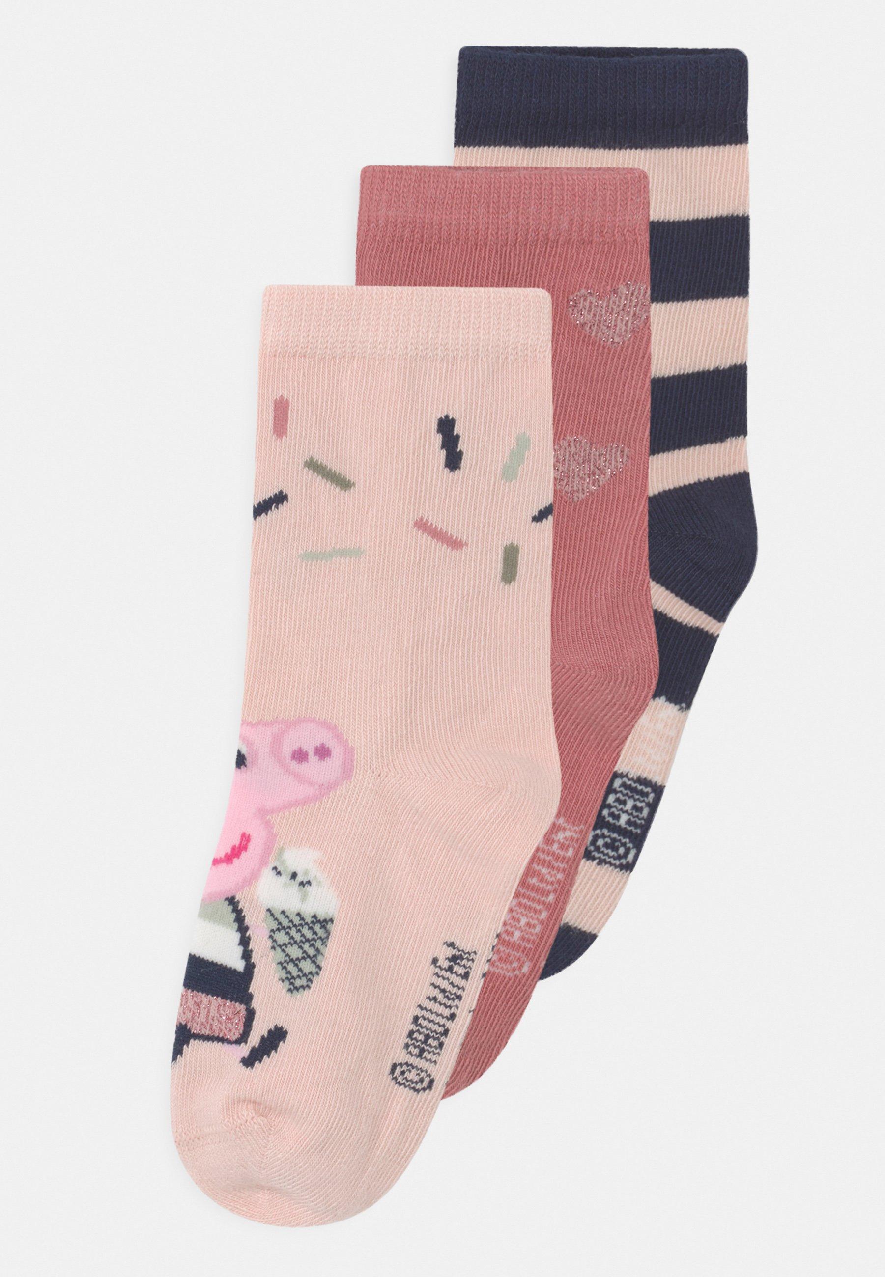 Kids NMFPEPPAPIG ALBA 3 PACK - Socks