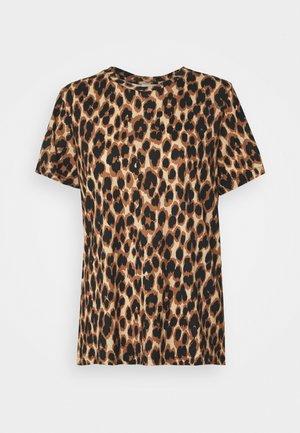 CUBRA - Print T-shirt - tan