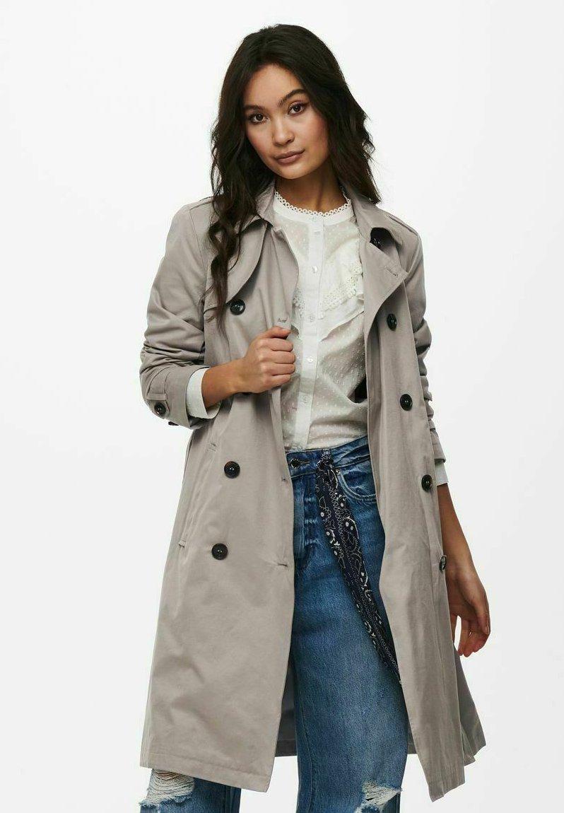 ONLY - Trenchcoat - vintage khaki