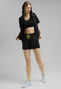 Esprit Sports - Zip-up sweatshirt - black - 1