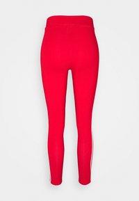 adidas Originals - STRIPES COMPRESSION - Leggings - Trousers - red - 8