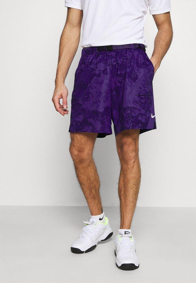SLAM SHORT - Korte broeken - court purple/black/white