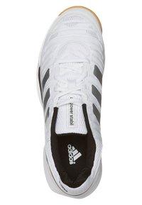adidas Performance - ADIPOWER STABIL 10.1 - Handball shoes - running white/metallic silver - 6