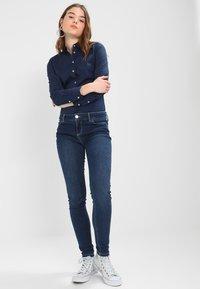 Tommy Jeans - ORIGINAL - Button-down blouse - dress blues - 1