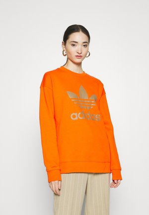 CREW ADICOLOR - Sweatshirt - energy orange/cardboard