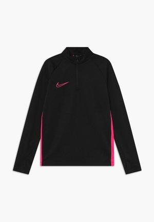 DRY ACADEMY DRIL - Sports shirt - black/hyper pink