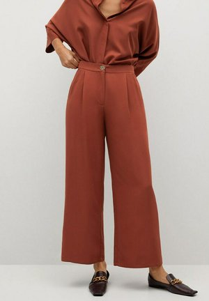 MOMO - Trousers - orange brûlé