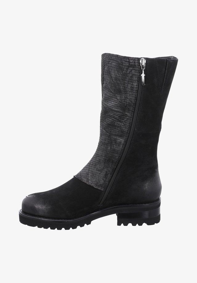 BOSTON - Boots - schwarz