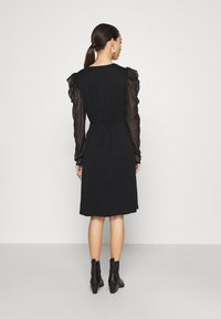 Vila - VIELLIAN DRESS - Day dress - black - 2
