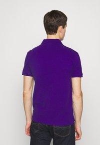 Polo Ralph Lauren - SLIM FIT MESH POLO SHIRT - Polotričko - chalet purple - 2