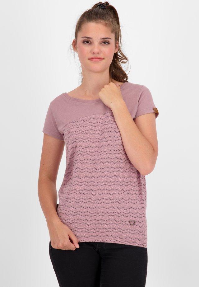 T-shirt imprimé - plum