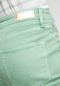 s.Oliver - Denim shorts - turquoise - 5