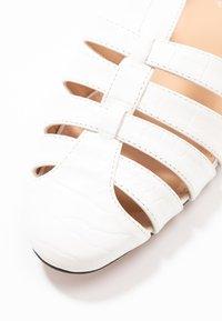 Topshop - OLIVE OPEN SHOE - Sandals - white - 2