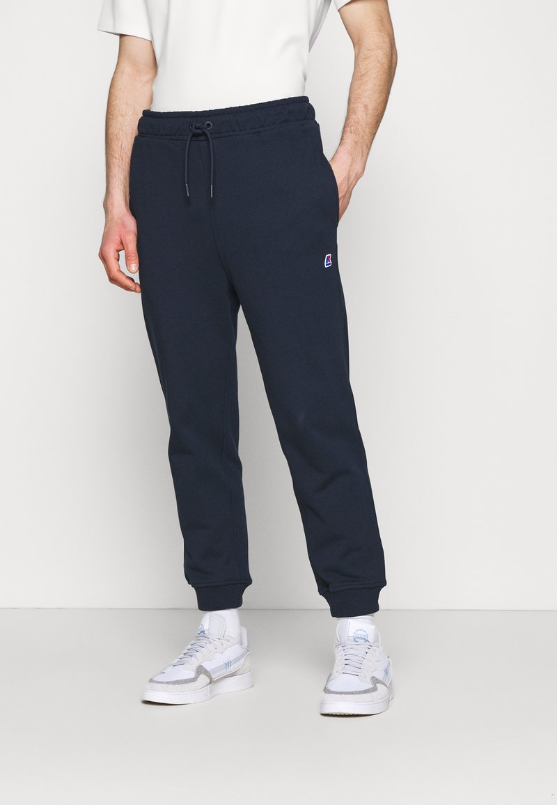 K-Way - ANDRE UNISEX - Trousers - navy