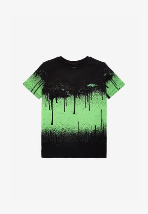 SPLAT  - Print T-shirt - black