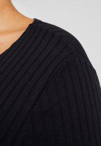 New Look Curves - ONGER POCKET CARDI - Kardigan - black - 5