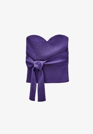 MIT MEHREREN TRAGEMÖGLICHKEITEN  - Top - purple