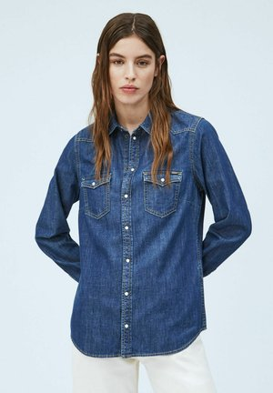 RHONDA - Button-down blouse - denim