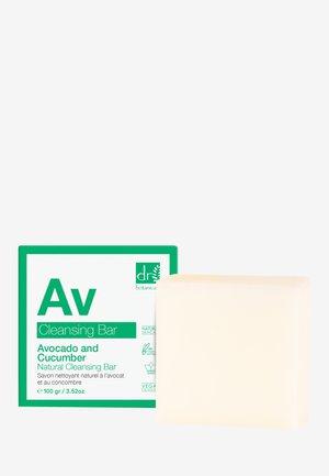 AVOCADO AND CUCUMBER NATURAL CLEANSING BAR - Ansiktsrengöring - -