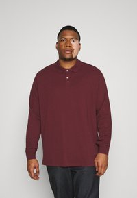 Pier One - Polo shirt - bordeaux - 0