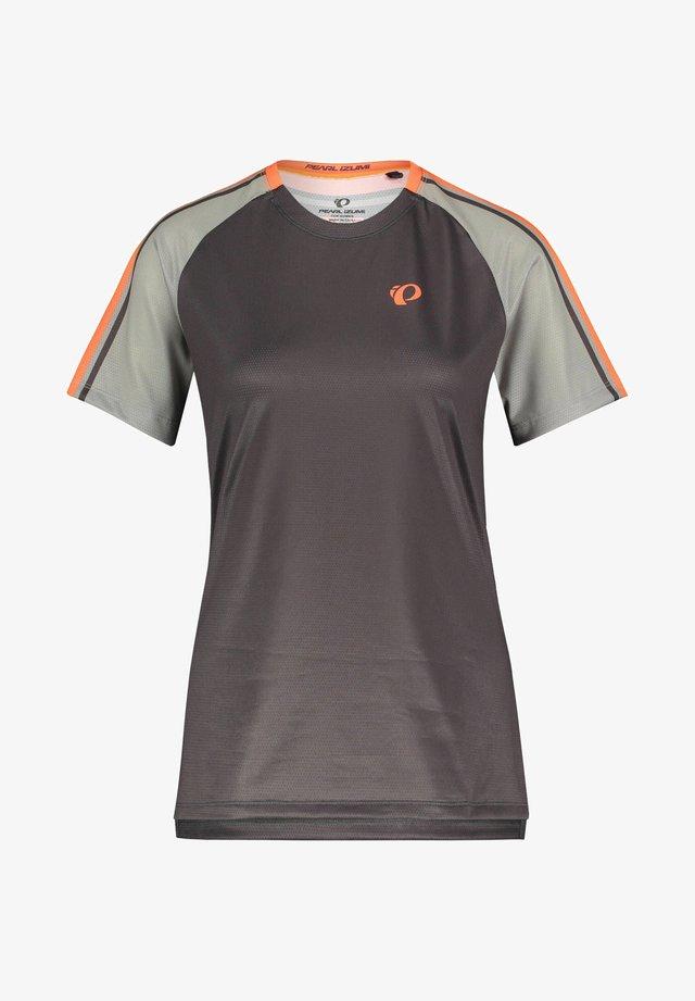 SUMMIT - Print T-shirt - aubergine (63)