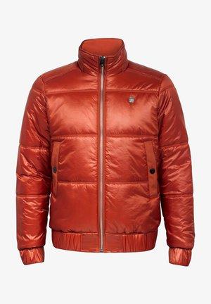 MEEFIC QUILTED - Down coat - cinnamon orange