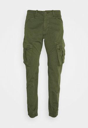 SPY PANT - Pantaloni cargo - dark olive