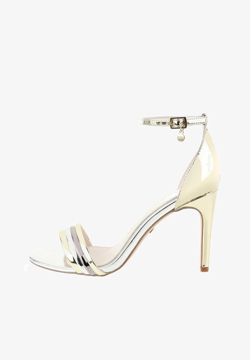 PRIMA MODA - PANCOLE - High heeled sandals - platinum