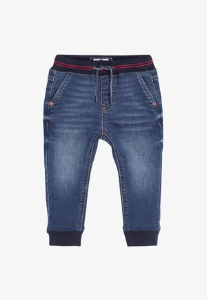 RIB WAIST - Relaxed fit jeans - blue