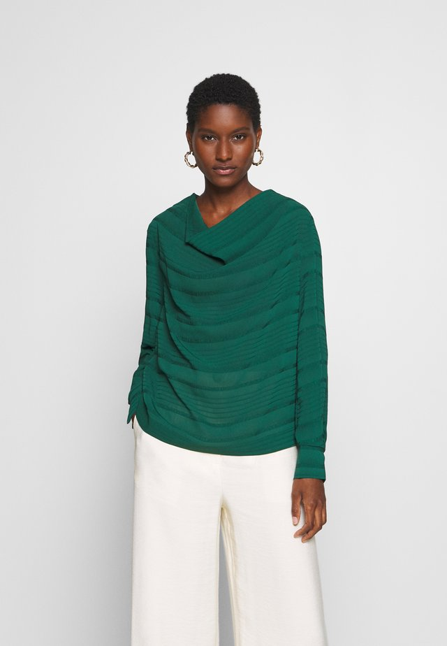 PABLAHIW BLOUSE - Bluser - warm green