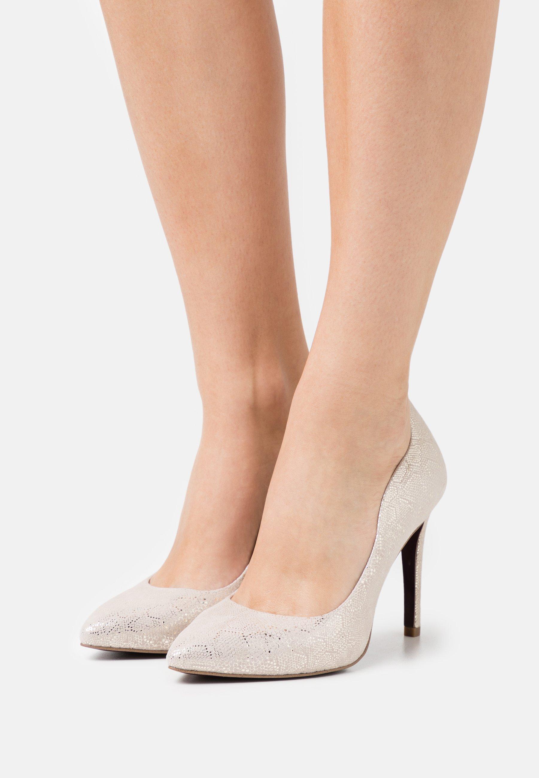 Women Classic heels - light gold