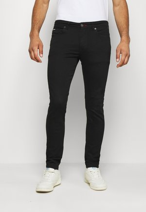 SEAHAM CLASSIC - Slim fit jeans - black denim