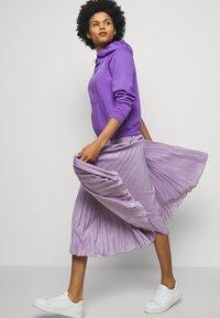 Polo Ralph Lauren - LONG SLEEVE - Felpa con cappuccio - spring violet - 4