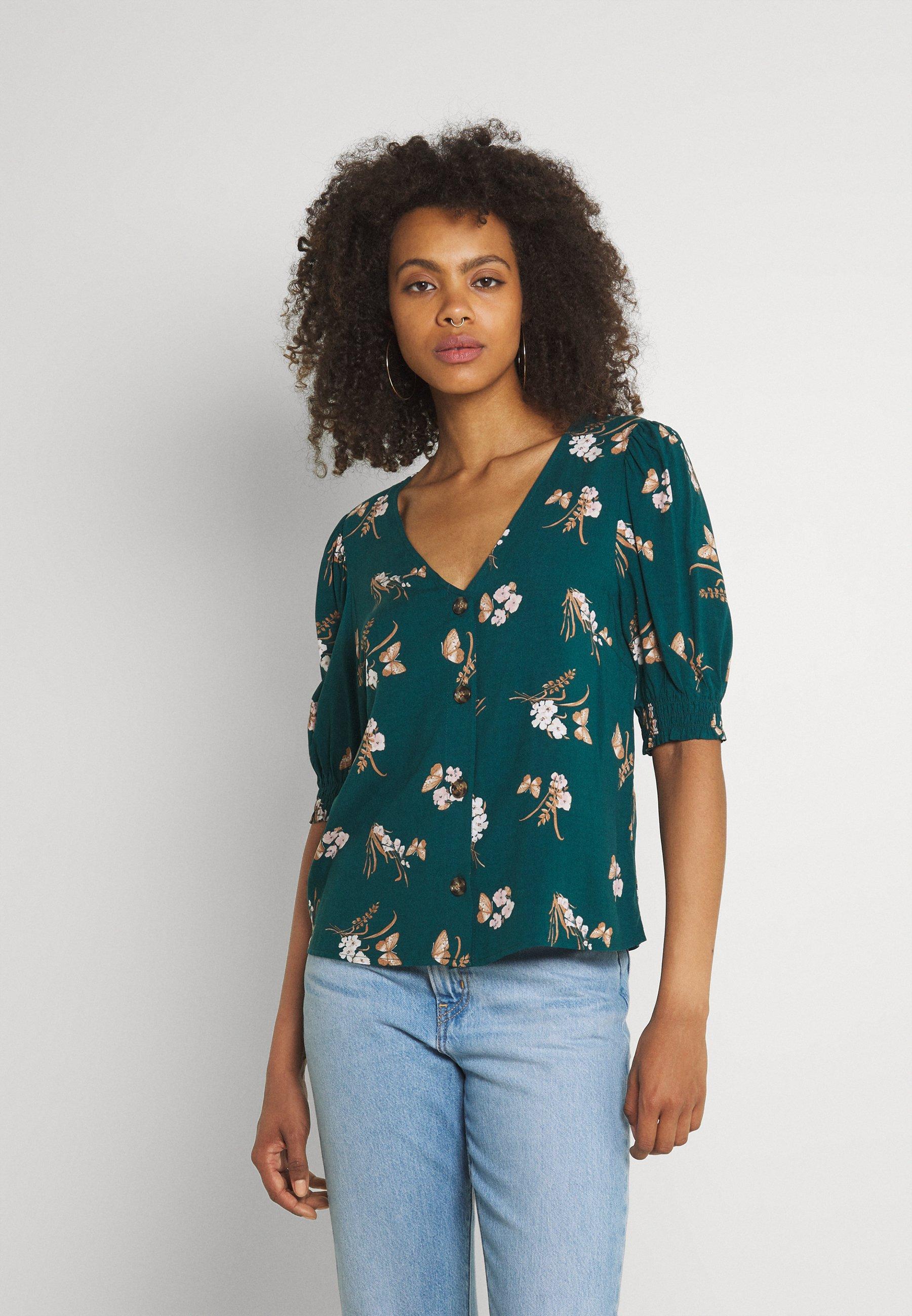 Damen VMSIMPLY EASY BUTTON - Bluse